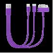 Кабель USB 4 в 1, Apple i-pad 4, i-pad 5, miniUSB, miniUSB