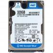 HDD 320 Gb SATA-II 300 Western Digital Scorpio Blue  WD3200BEVT 2.5