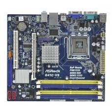 ASRock G41C-VS LGA775 <G41> PCI-E+SVGA+LAN SATA MicroATX 2DDR-II+2DDR-III