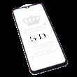 Защитное стекло 5D для Samsung Galaxy A10 (Черное)