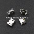 Разъем Micro USB 5pin Socket 4, прямой