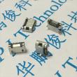 Разъем Micro USB 5pin Socket 2, прямой