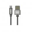 Кабель магнитный USB-MicroUSB Remax RC-095m (1m, серый)