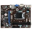 MSI H81M-P33 LGA1150 < H81 > PCI-E Dsub+DVI GbLAN SATA MicroATX 2DDR3