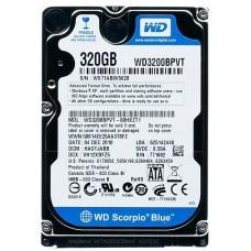 HDD 320 Gb SATA-II 300 Western Digital Scorpio Blue (WD3200BPVT) 2.5