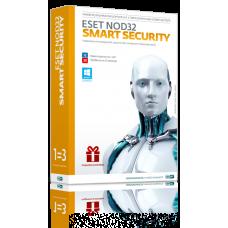 Продление лицензии Антивирус ESET NOD32 Smart Security < NOD32-ESS-RN (BOX3)-1-1 > на 3 ПК (BOX) на 1 год