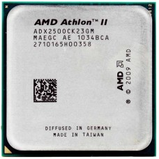 CPU AMD ATHLON II X2 250 (ADX250O) 3.0 GHz / 2core / 2Mb / 65W / 4000MHz Socket AM3
